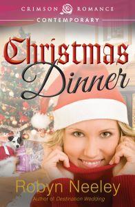 Christmas Dinner, contemporary romance cover