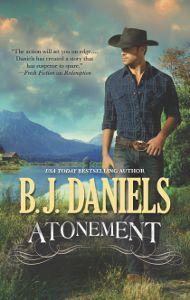 Atonement, western romantic suspense cover