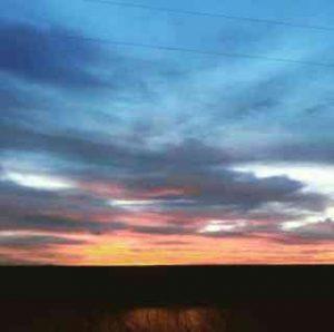 Sunset picture by Jodi Thomas